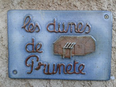 plaque dunes de prunete